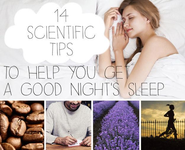 Keep a consistent sleep schedule.