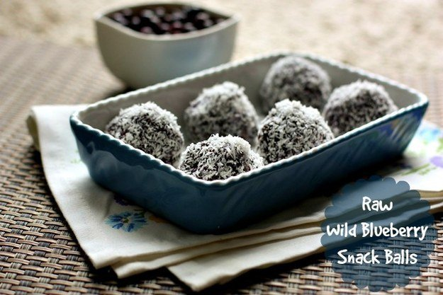 Blueberry Coconut Balls