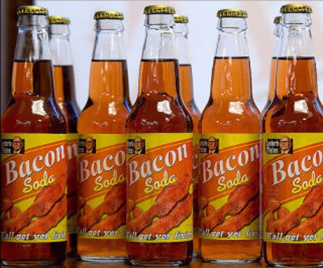 3.) Bacon Soda.
