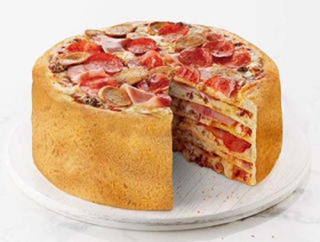 10.) The Pizza Cake.