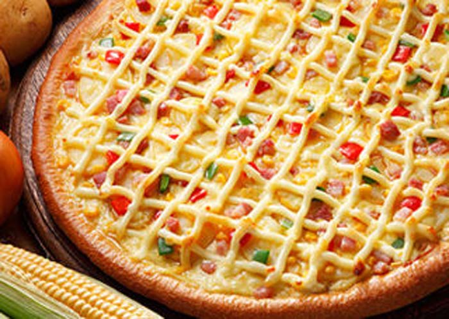 19.) Domino's Mayonnaise Pizza.
