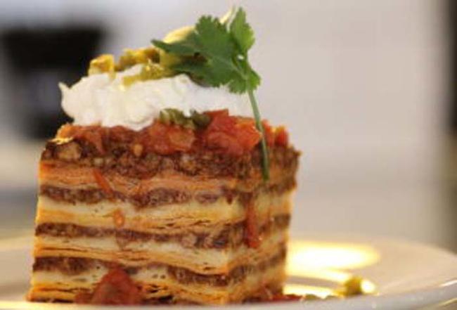 17.) Nacho Lasagna.