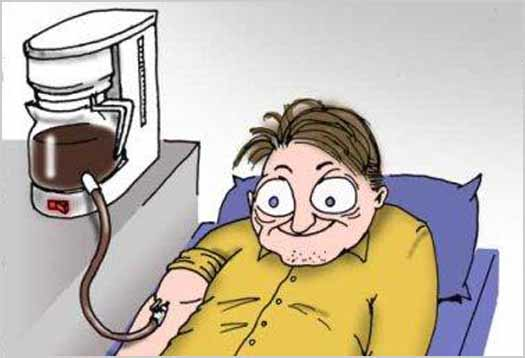 11.) The Bad: Caffeine is addictive. Caffeine withdrawal can produce headaches, fatigue, and decreased alertness.