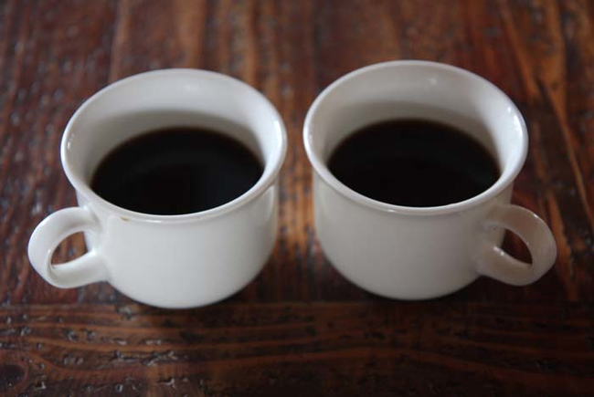 2.) Coffee won't dehydrate you, unless you drink a lot.