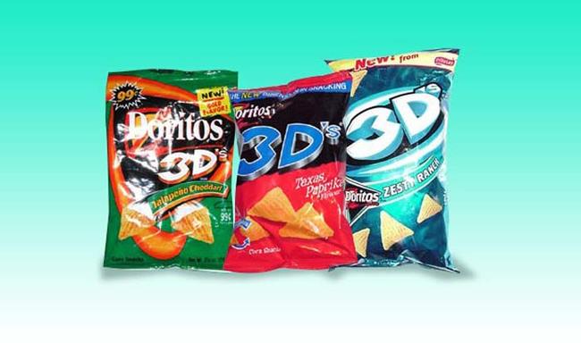 6.) 3D Doritos.