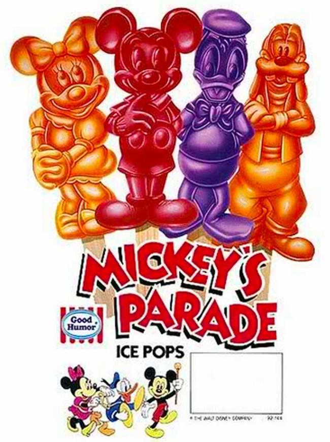 10.) Disney popsicles.