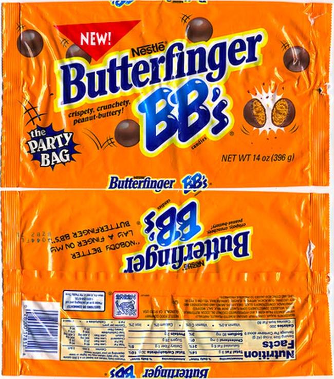 19.) Butterfinger BB's.