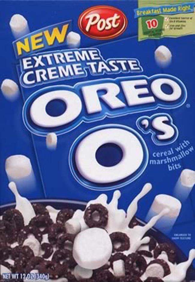 20.) Oreo O's.