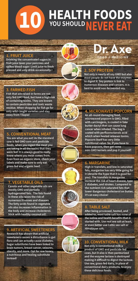 10 Foods You Should Never Eat - You Be Fit