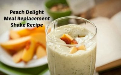 Peach Delight Meal Replacement Shake Recipe