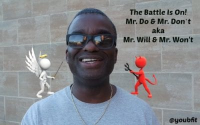 The Battle is on, Mr. Do and Mr. Don't