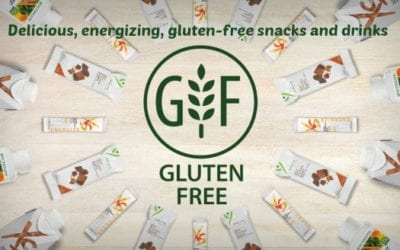 Delicious, energizing, gluten-free snacks and drinks