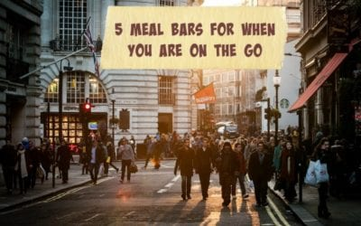 5 Meal Bars For When You Are On The Go