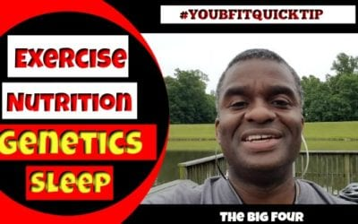 Exercise, Nutrition, Genetics, Sleep