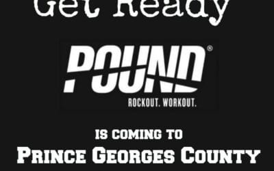 Register for POUND Classes coming to P.G. County, Maryland